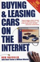 Buying and Leasing Cars on the Internet