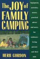 The Joy Of Family Camping