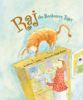 Raj, the Bookstore Tiger