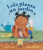 Cover of Lola planta un jardín