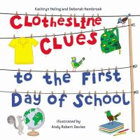 Clothesline Clues to the First Day of School