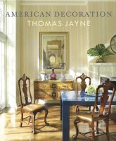 American decoration : a sense of place
