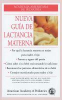 Nueva guía de lactancia materna