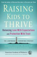 Raising your Kids to Thrive