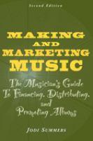 Making and Marketing Music