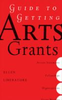 Guide to Getting Arts Grants