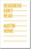 Designers Don't Read