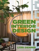 Green Interior design book cover