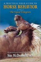 The Equid Ethogram