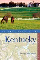 Explorer's Guide Kentucky