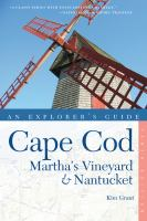 Cape Cod, Martha's Vineyard & Nantucket, [2014]