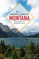Backroads & Byways of Montana