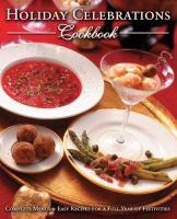 Holiday Celebrations Cookbook