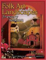 Folk Art Landscapes for Every Season