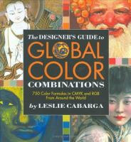 The Designer's Guide to Global Color Combinations