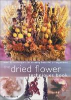 Dried Flower Techniques Book