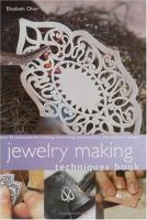 Jewelry Making Techniques Book