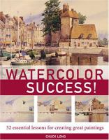 Watercolor Success!