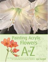 Painting Acrylic Flowers A-Z
