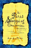 The Paris Shopping Companion