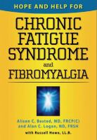 Hope and Help for Chronic Fatigue Syndrome and Fibromyalgia