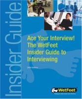Ace your Interview!
