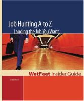 Job Hunting A to Z