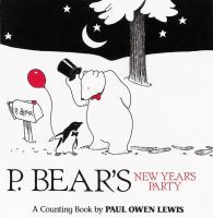 You Are Cordially Invited to P. Bear's New Year's Party!