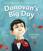 Cover of Donovan's Big Day