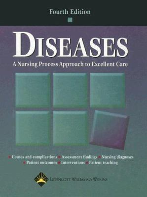 """Picture of book cover for """"Diseases: A Nursing Process Approach to Excellent Care"""""""