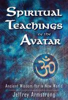 Spiritual Teachings of the Avatar