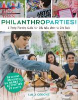 Philanthroparties!