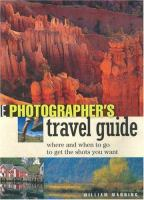 Photographer's Travel Guide