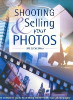 Shooting and Selling your Photos