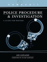 Police Procedure & Investigation