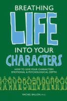 Breathing Life Into your Characters