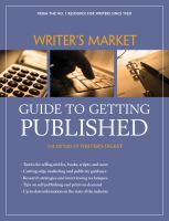 Writer's Market Guide to Getting Published
