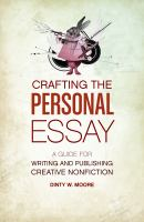Crafting the Personal Essay