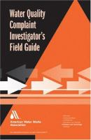 Water Quality Complaint Investigator's Field Guide