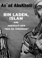 "Bin Laden, Islam, And America's New ""war On Terrorism"""