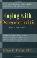 Coping With Osteoarthritis