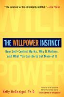 The Willpower Instinct