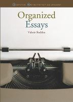 Organized Essays