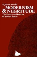 Modernism and Negritude