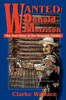 Wanted, Donald Morrison