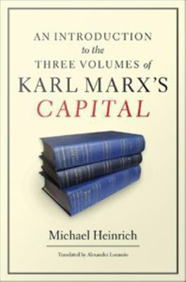 "Picture of a book cover for ""An Introduction to the Three Volumes of Karl Marx's Capital"""
