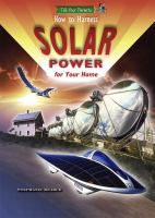 How to Harness Solar Power for your Home