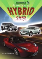 All About Electric and Hybrid Cars