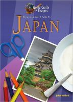 Recipe and Craft Guide to Japan