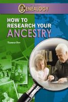 How to Research your Ancestry